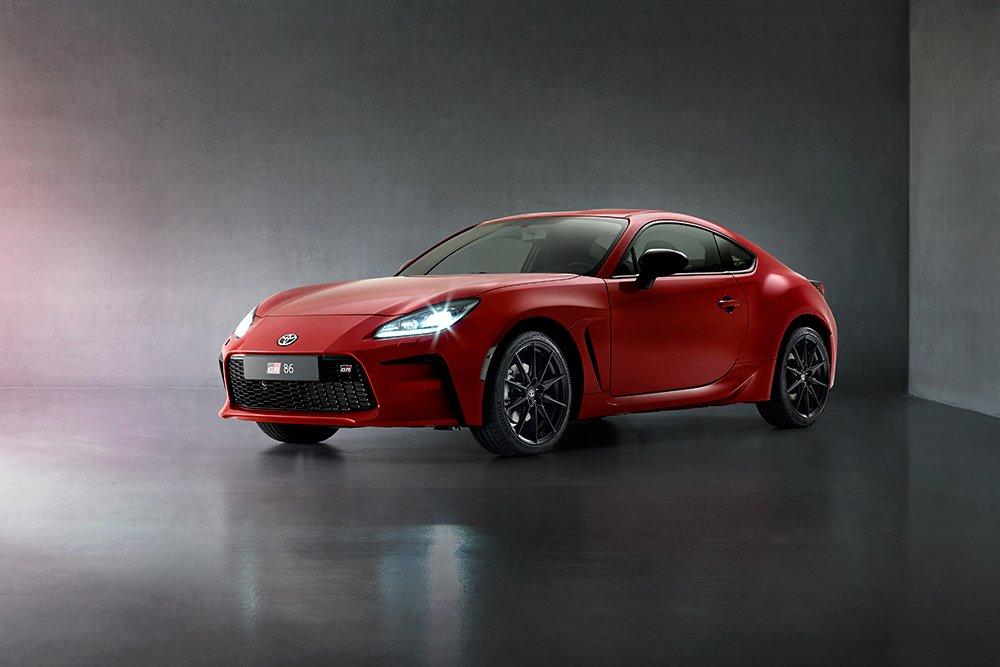 Verdenspremiere: Toyota GR 86