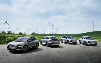 Kun elbiler fra Audi i 2026