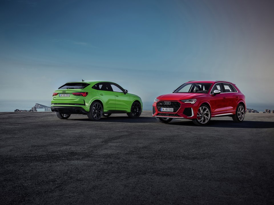 RS Q3 og RS Q3 Sportback