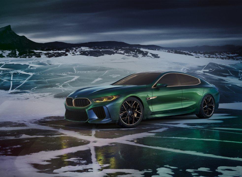 Alle BMW nyheder i Geneve