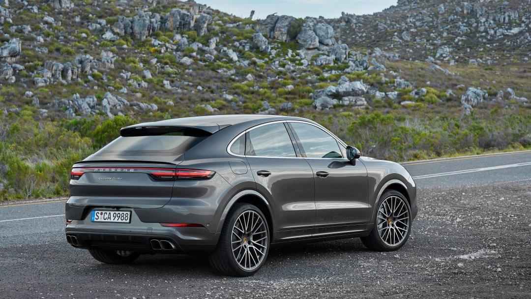 Ny Porsche Cayenne Coupé