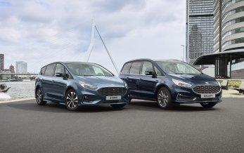Ny Ford Galaxy og S-Max hybrid