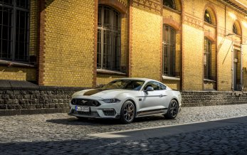 Ford Mustang Mach 1 til Europa