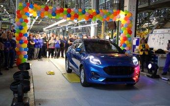 Produktionen af Ford Puma er startet