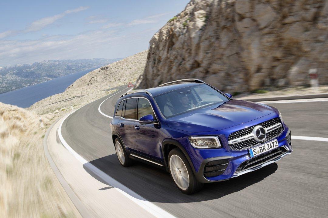 Priser på den nye Mercedes-Benz GLB