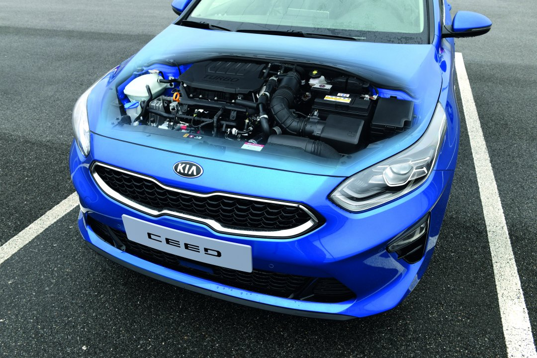 Nye motorer til KIA Ceed