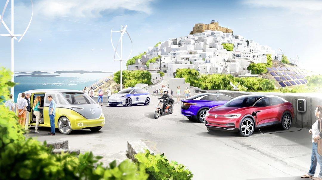 VW vil skabe klimaneutral ø