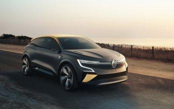 Ny elbil fra Renault - Megane eVision