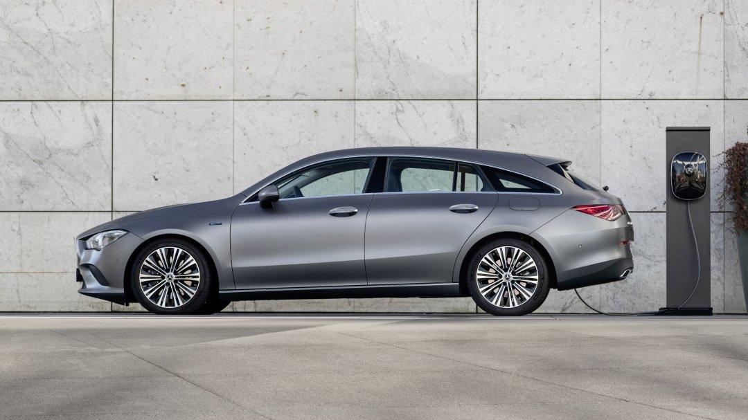 Tre nye plug-in-modeller fra Mercedes-Benz