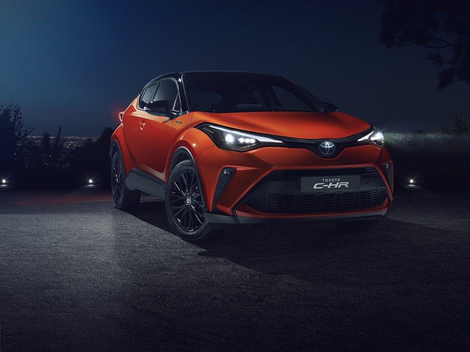 Ny og forbedret Toyota C-HR