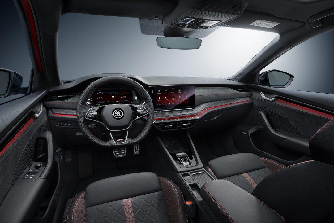 Skoda præsenterer Octavia RS iV