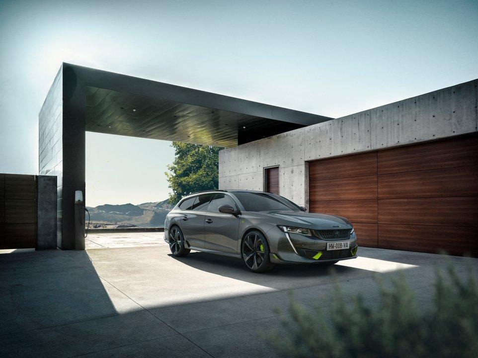 Peugeot 508 Sport Engineered med 360 hk
