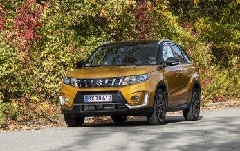 Suzuki klar med faceliftet Vitara
