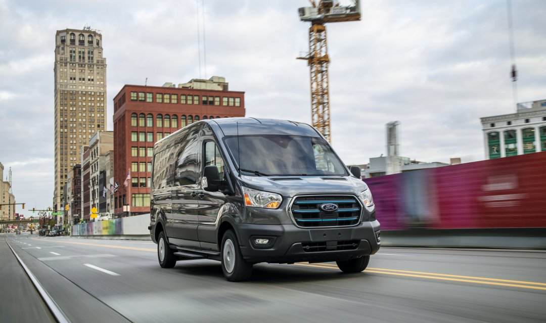 Ny elektrisk Ford Transit