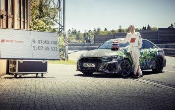 Audi RS3 sætter ny banerekord