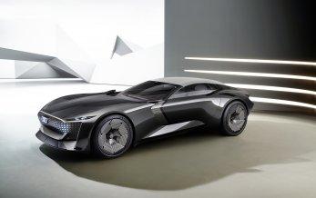 Ny ekstrem prototype fra Audi - skysphere