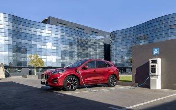Ny Ford Kuga i alle hybridvarianter
