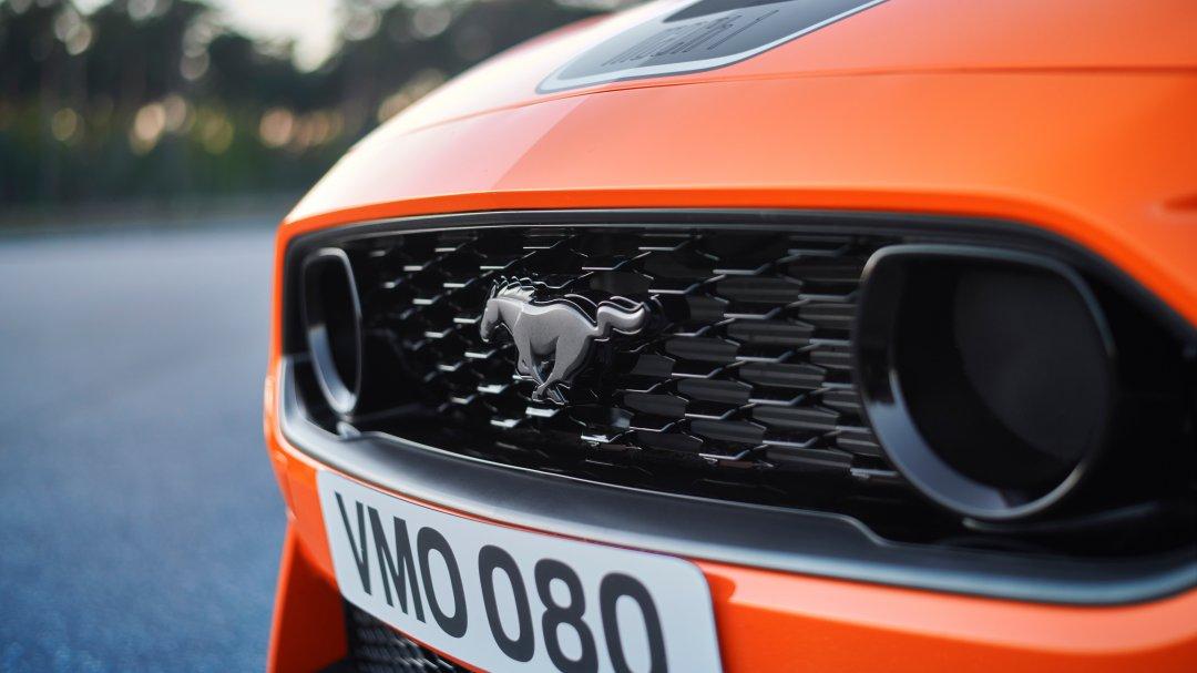 Mustang Mach 1 til Europa